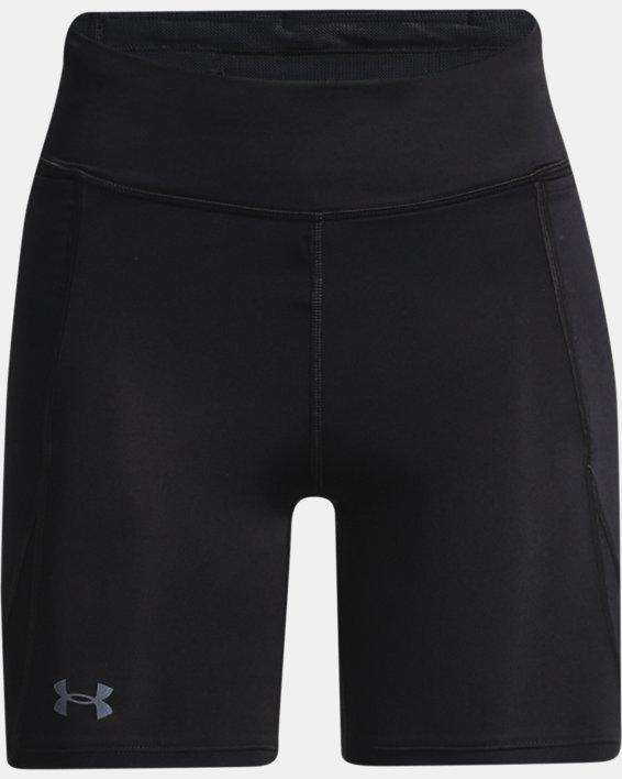 Women's UA Fly Fast Pocket Shorts, Black, pdpMainDesktop image number 4