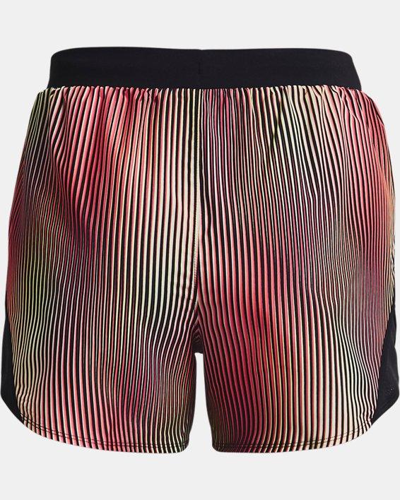 Women's UA Fly-By 2.0 Chroma Shorts, Pink, pdpMainDesktop image number 4