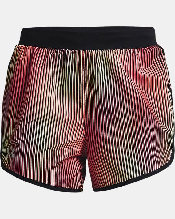 Women's UA Fly-By 2.0 Chroma Shorts, Pink, pdpMainDesktop image number 3