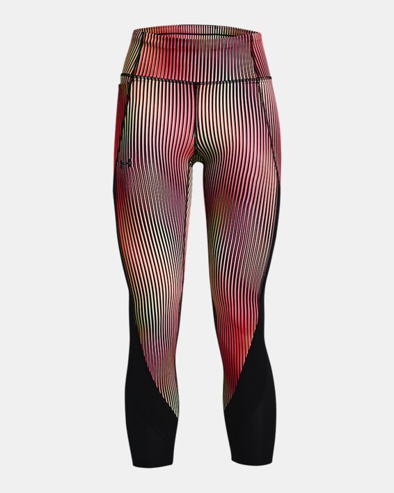 Women's UA Fly Fast Chroma Ankle Tights, Pink, pdpMainDesktop image number 4