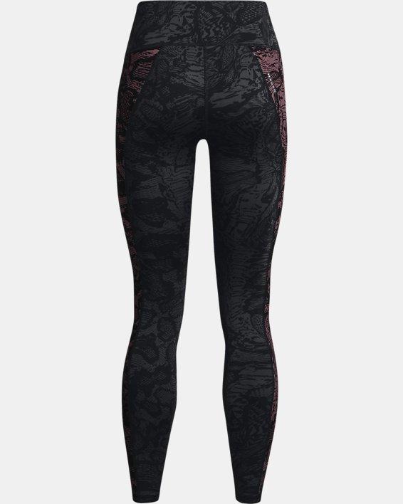 Women's UA RUSH™ HeatGear® No-Slip Waistband Printed Full-Length Leggings, Black, pdpMainDesktop image number 5