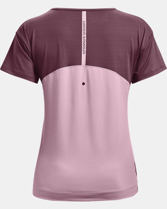 Women's UA RUSH™ Energy Colorblock Short Sleeve, Pink, pdpMainDesktop image number 5