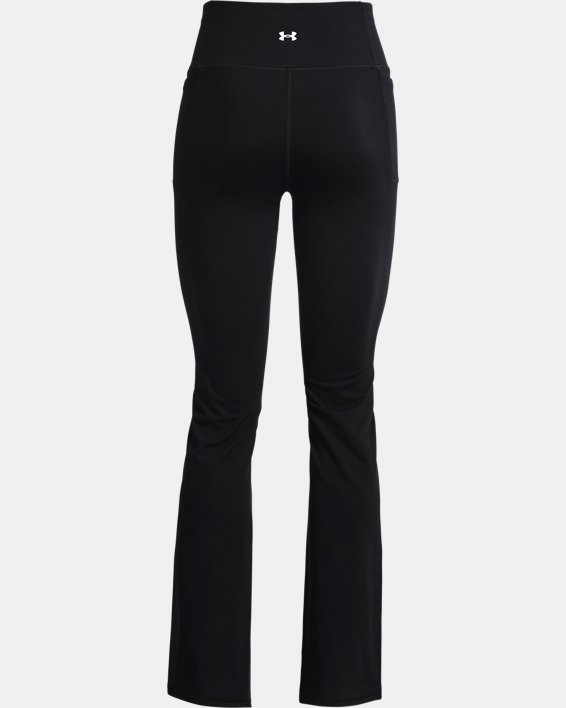 Women's UA Meridian Flare Pants, Black, pdpMainDesktop image number 5