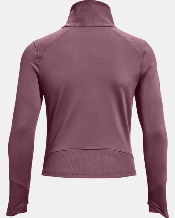 Women's UA Meridian Jacket, Purple, pdpMainDesktop image number 5