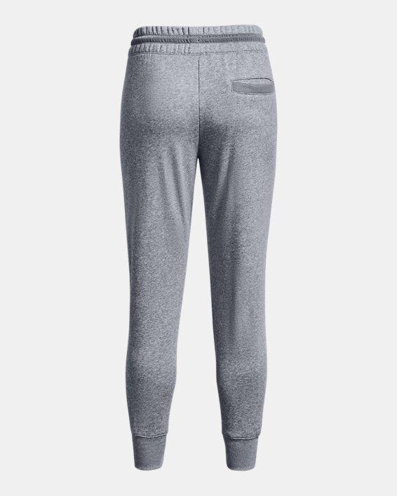 Women's UA Rival Fleece Mesh Pants, Gray, pdpMainDesktop image number 5