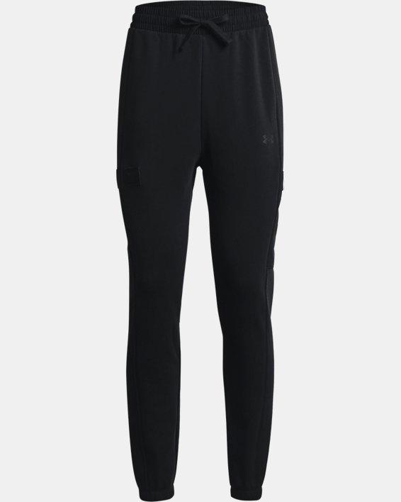 Women's Project Rock Fleece Pants, Black, pdpMainDesktop image number 5