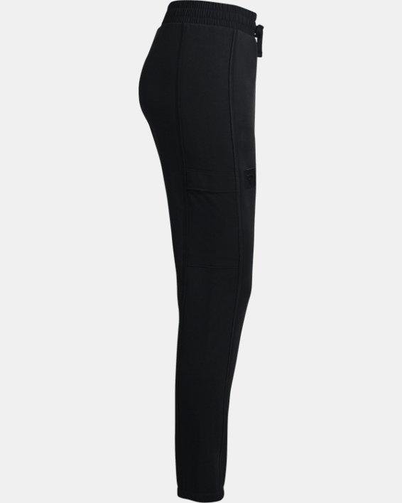 Women's Project Rock Fleece Pants, Black, pdpMainDesktop image number 7
