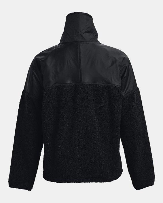 Women's UA Mission Full-Zip Jacket, Black, pdpMainDesktop image number 5