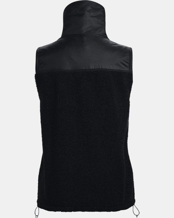 Women's UA Mission Vest, Black, pdpMainDesktop image number 5