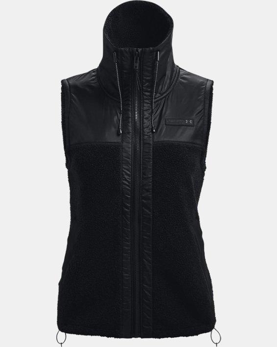 Women's UA Mission Vest, Black, pdpMainDesktop image number 4