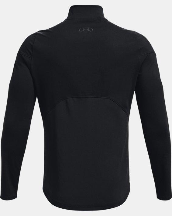 Men's UA RUSH™ ColdGear® Mock, Black, pdpMainDesktop image number 6