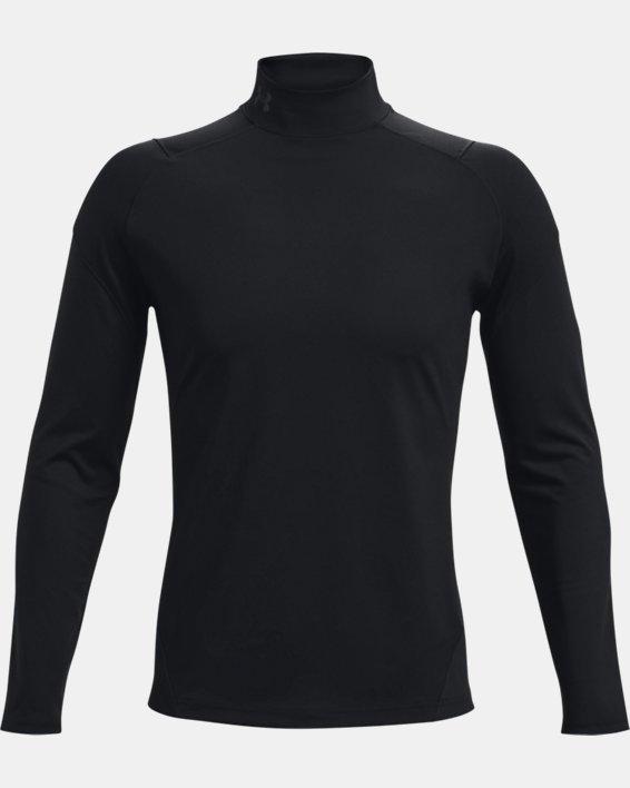 Men's UA RUSH™ ColdGear® Mock, Black, pdpMainDesktop image number 5