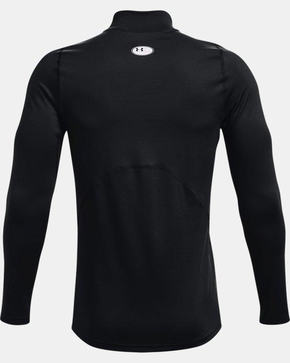 Men's ColdGear® Fitted Mock, Black, pdpMainDesktop image number 6