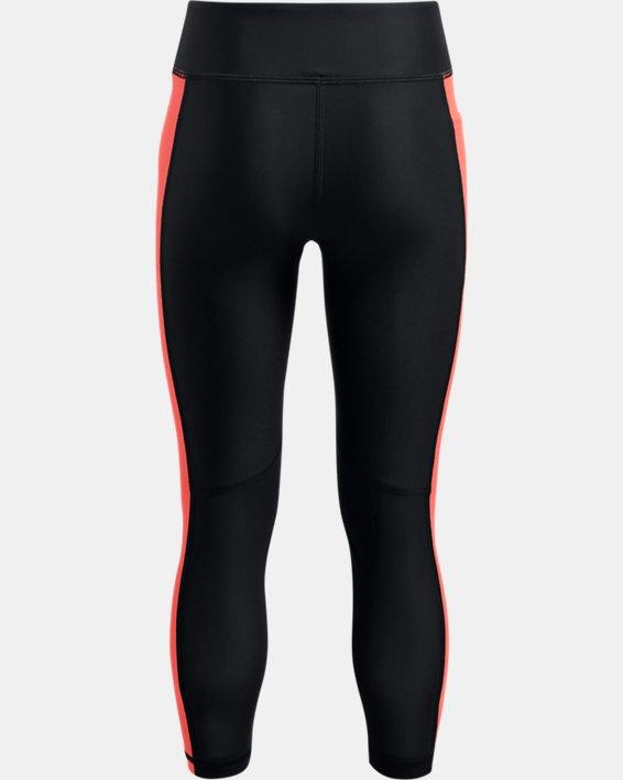 Leggings Project Rock HeatGear® Armour Ankle para niña, Black, pdpMainDesktop image number 1