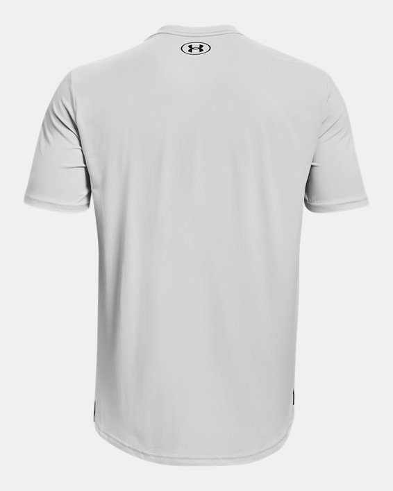 Men's UA RUSH™ Energy Short Sleeve, Gray, pdpMainDesktop image number 5