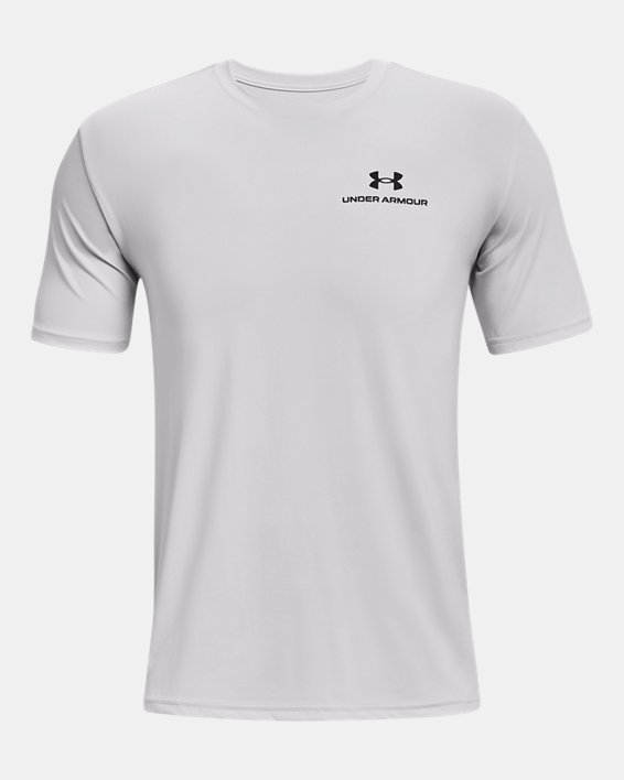Men's UA RUSH™ Energy Short Sleeve, Gray, pdpMainDesktop image number 4