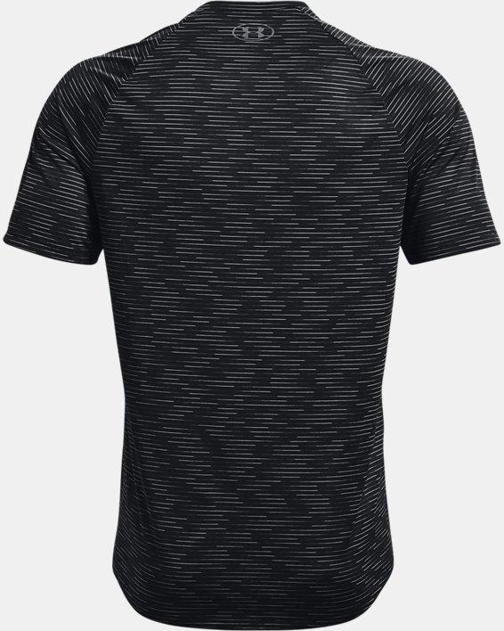 Men's UA Tech™ 2.0 Dash Short Sleeve, Black, pdpMainDesktop image number 5