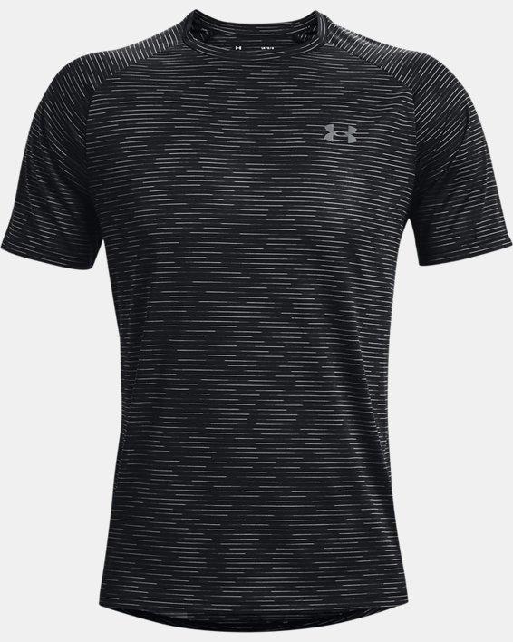 Men's UA Tech™ 2.0 Dash Short Sleeve, Black, pdpMainDesktop image number 4