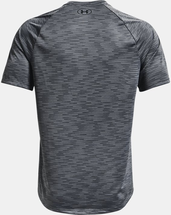 Men's UA Tech™ 2.0 Dash Short Sleeve, Gray, pdpMainDesktop image number 5