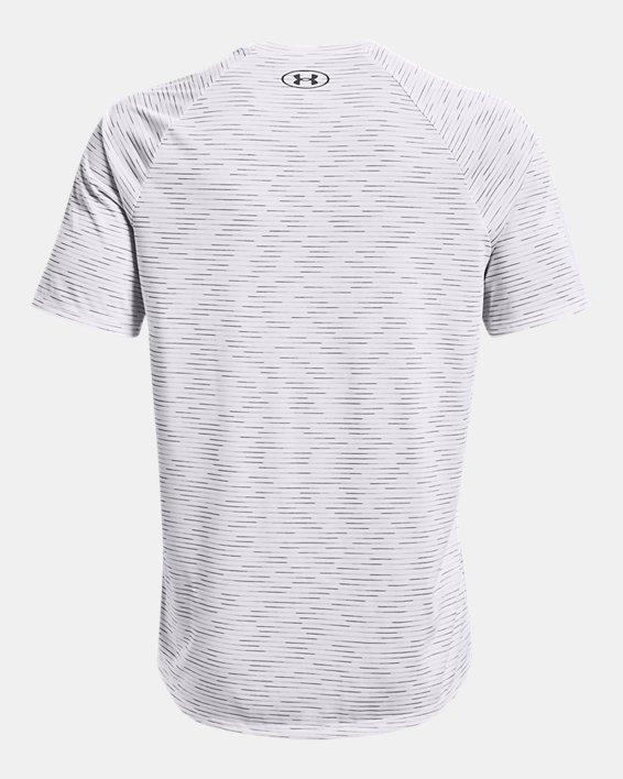 Men's UA Tech™ 2.0 Dash Short Sleeve, White, pdpMainDesktop image number 5