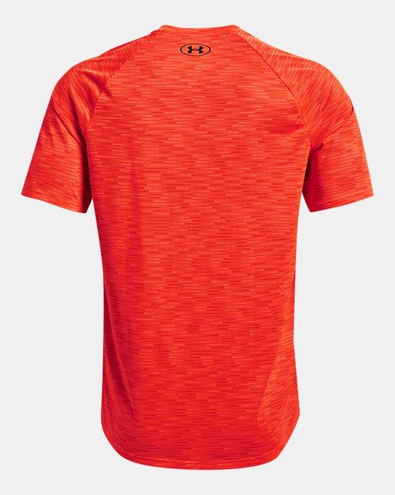 Men's UA Tech™ 2.0 Dash Short Sleeve, Orange, pdpMainDesktop image number 5