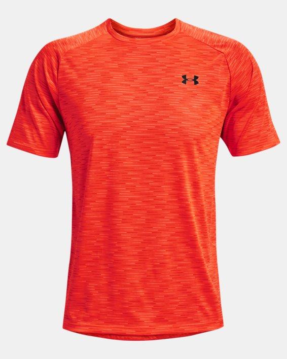 Men's UA Tech™ 2.0 Dash Short Sleeve, Orange, pdpMainDesktop image number 4