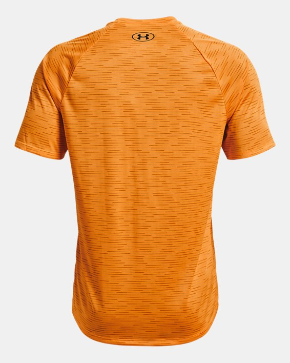 Herenshirt UA Tech™ 2.0 5C met korte mouwen, Orange, pdpMainDesktop image number 5