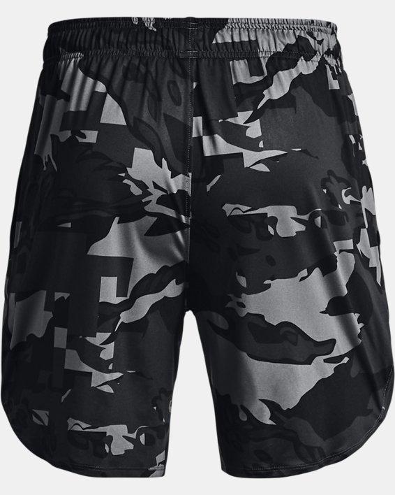 "Men's UA Stretch Train 7"" Camo Shorts, Gray, pdpMainDesktop image number 5"