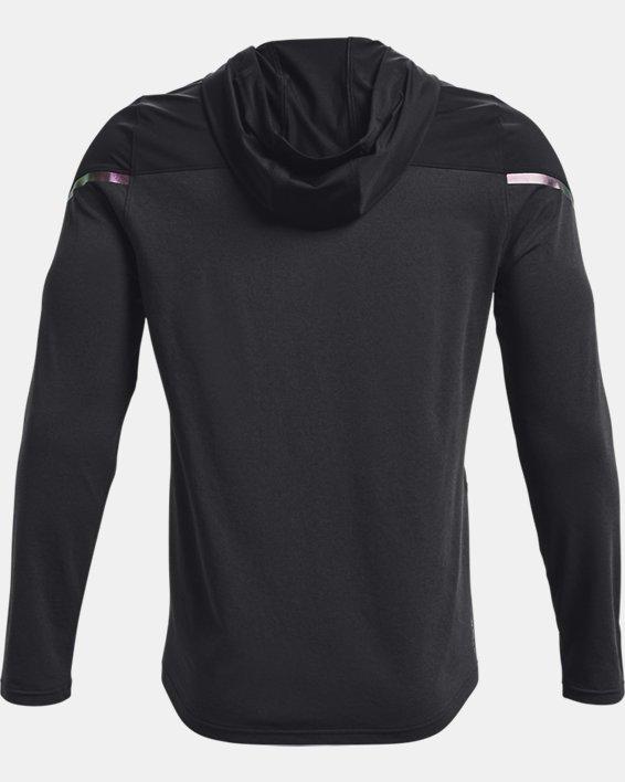 Men's UA RUSH™ HeatGear® Full-Zip Hoodie, Black, pdpMainDesktop image number 5