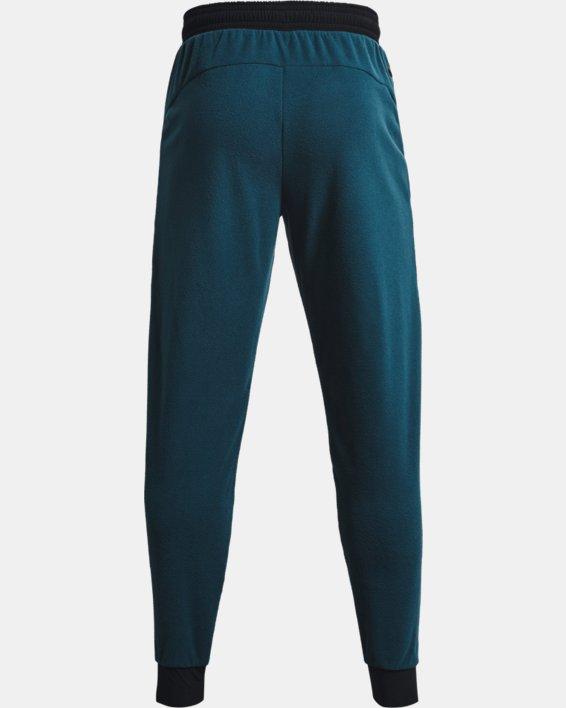 Men's UA RUSH™ Fleece Pants, Blue, pdpMainDesktop image number 8