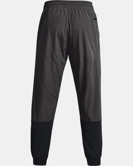 Men's UA RUSH™ Legacy Woven Pants, Black, pdpMainDesktop image number 5