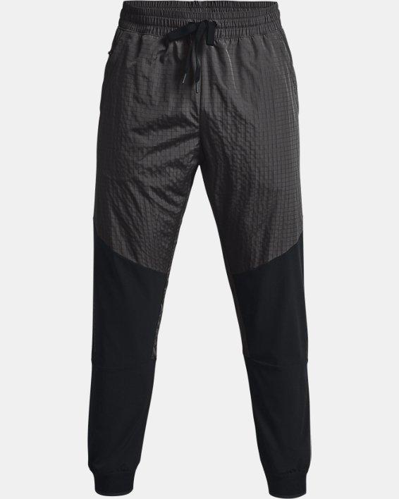 Men's UA RUSH™ Legacy Woven Pants, Black, pdpMainDesktop image number 4