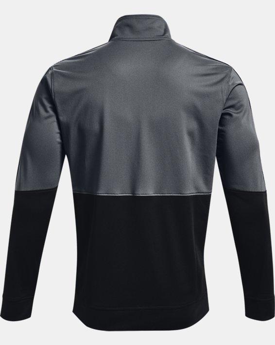 Men's UA Pique Track Jacket, Gray, pdpMainDesktop image number 4