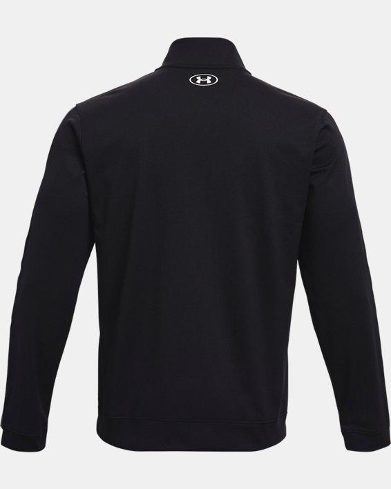 Men's UA Tricot Jacket, Black, pdpMainDesktop image number 5