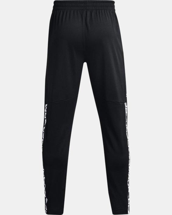 Men's UA Tricot Track Pants, Black, pdpMainDesktop image number 5