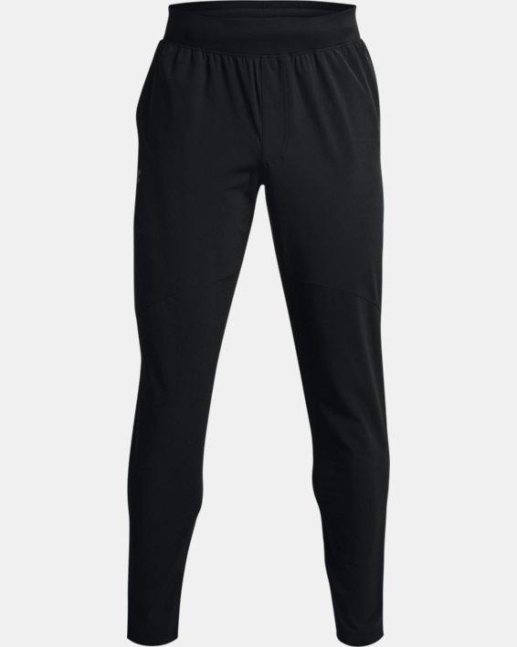 Men's UA Stretch Woven Pants, Black, pdpMainDesktop image number 4