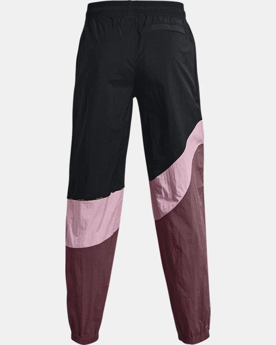 Men's UA 21230 Wind Pants, Black, pdpMainDesktop image number 6