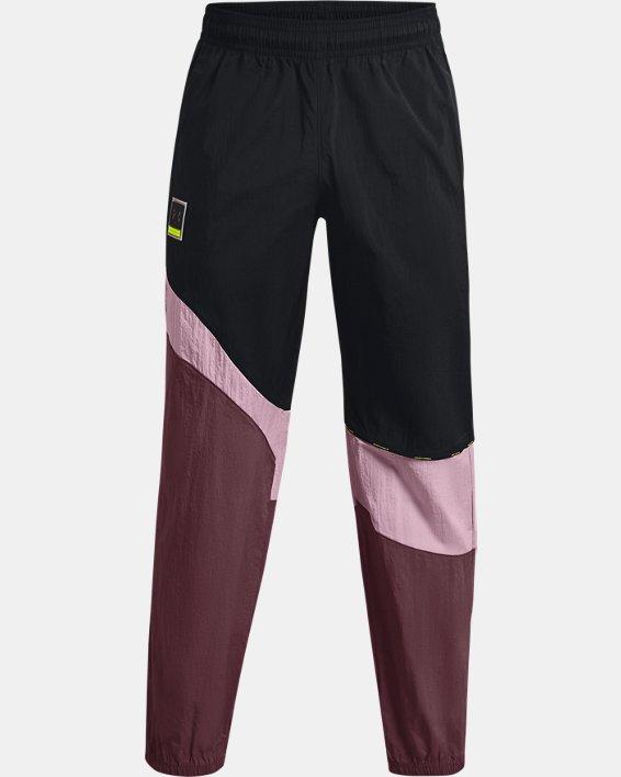 Men's UA 21230 Wind Pants, Black, pdpMainDesktop image number 5