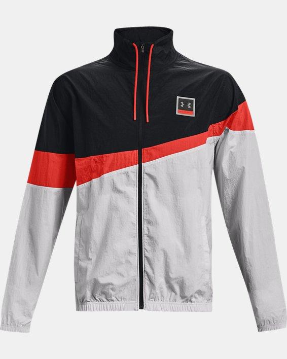 Men's UA 21230 Full-Zip Jacket, Black, pdpMainDesktop image number 4