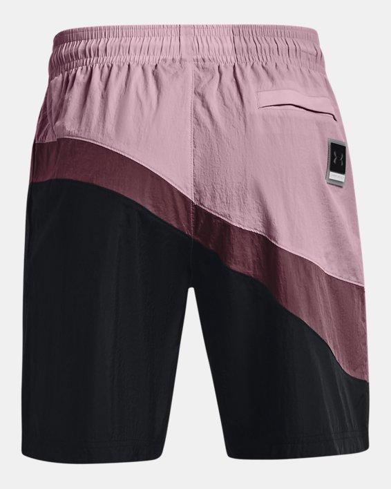 Men's UA 21230 Woven Shorts, Pink, pdpMainDesktop image number 5