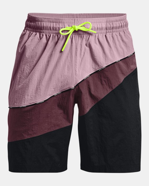 Men's UA 21230 Woven Shorts, Pink, pdpMainDesktop image number 4