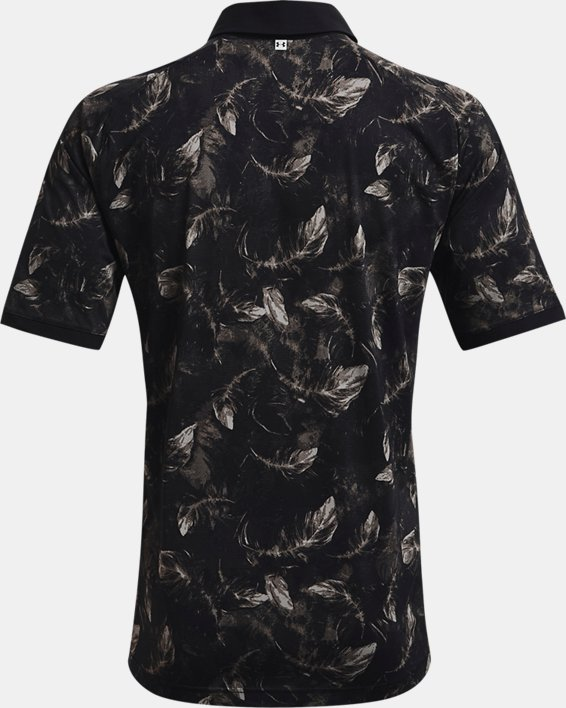 Men's UA Iso-Chill Feather Polo, Black, pdpMainDesktop image number 5