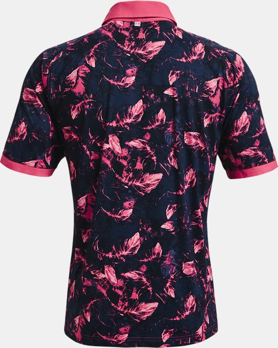 Men's UA Iso-Chill Feather Polo, Pink, pdpMainDesktop image number 4