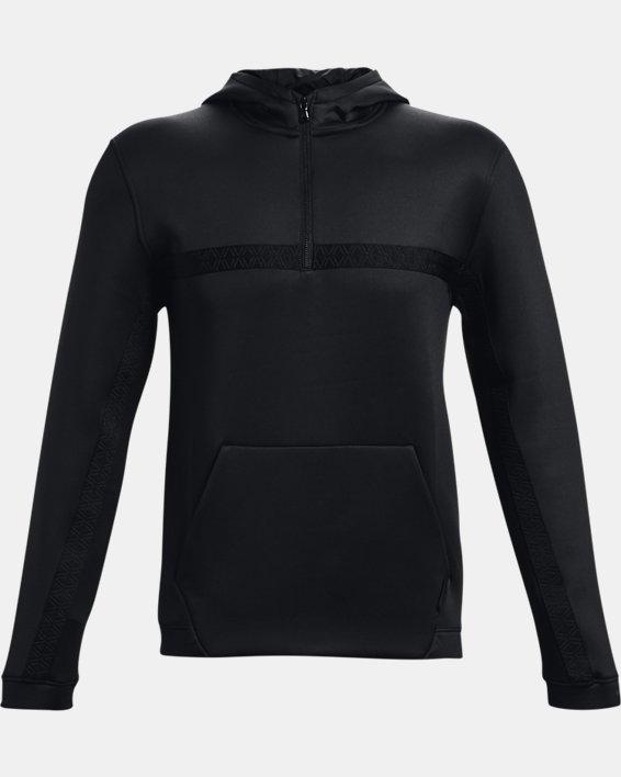 Men's Curry Hooded Track Jacket, Black, pdpMainDesktop image number 5