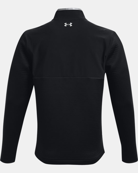 Men's UA Storm Daytona ½ Zip, Black, pdpMainDesktop image number 4
