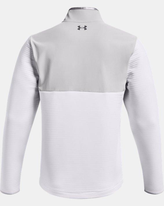 Men's UA Storm Daytona ½ Zip, White, pdpMainDesktop image number 4