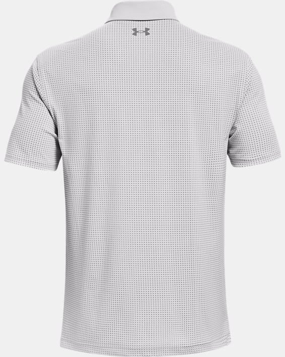 Men's UA T2G Printed Polo, Gray, pdpMainDesktop image number 4