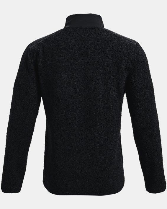 Pullover UA SweaterFleece Pile da uomo, Black, pdpMainDesktop image number 5