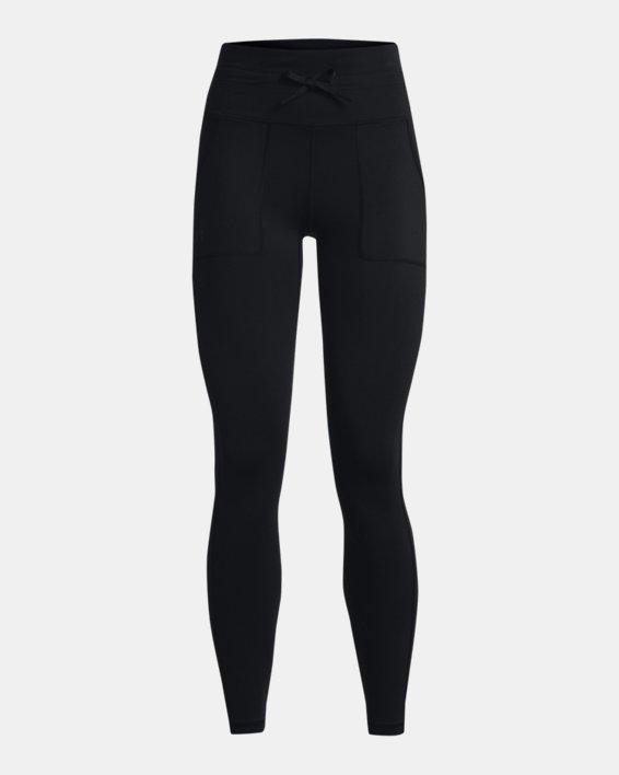 Women's UA HydraFuse Cargo Leggings, Black, pdpMainDesktop image number 4