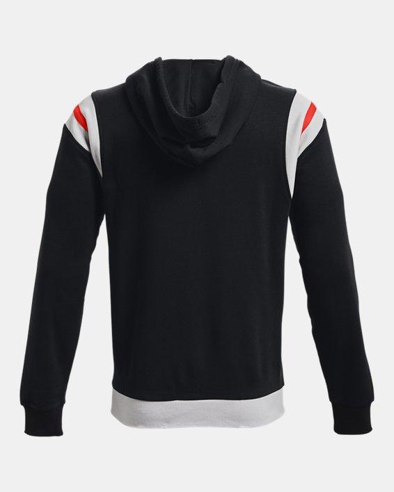 Men's UA Rival Fleece Alma Mater Full-Zip Hoodie, Black, pdpMainDesktop image number 5